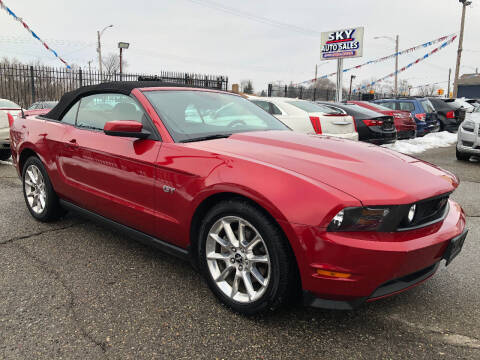 2010 Ford Mustang for sale at SKY AUTO SALES in Detroit MI
