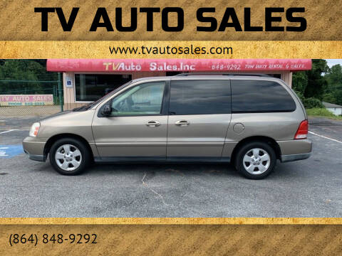 2004 Ford Freestar for sale at TV Auto Sales in Greer SC