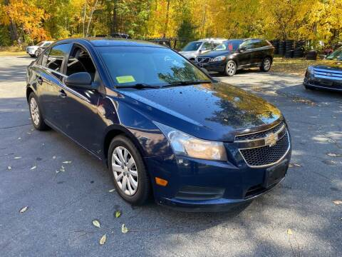 2011 Chevrolet Cruze for sale at Broadway Motor Sales and Auto Brokers in North Chelmsford MA