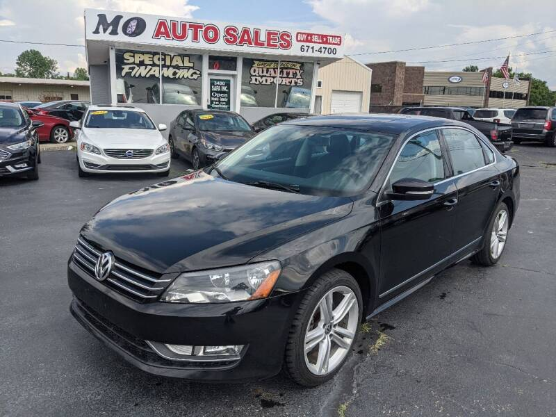 2015 Volkswagen Passat for sale at Mo Auto Sales in Fairfield OH