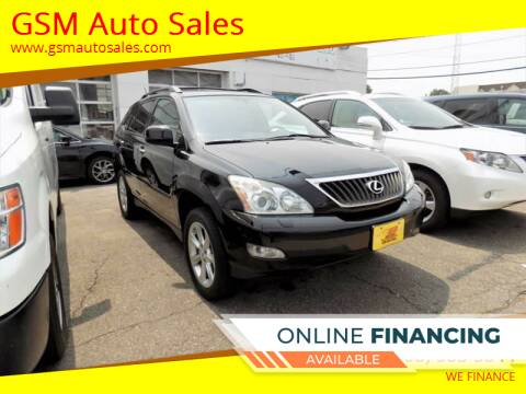2009 Lexus RX 350 for sale at GSM Auto Sales in Linden NJ