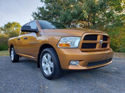 2012 RAM Ram Pickup 1500 for sale at Jacob's Auto Sales Inc in West Bridgewater MA