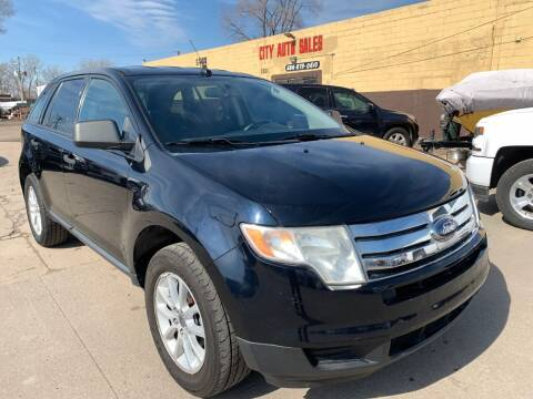 2008 Ford Edge for sale at City Auto Sales in Roseville MI