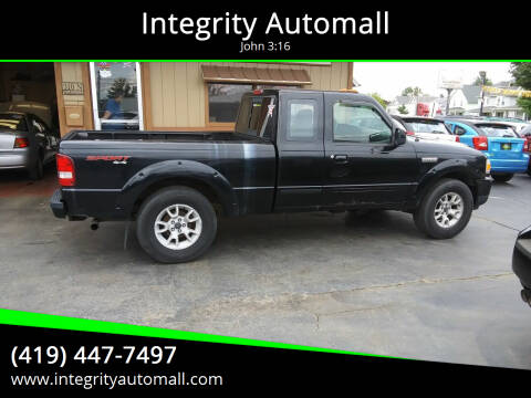 2008 Ford Ranger for sale at Integrity Automall in Tiffin OH