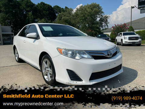 2014 Toyota Camry for sale at Smithfield Auto Center LLC in Smithfield NC