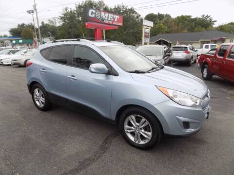 2012 Hyundai Tucson for sale at Comet Auto Sales in Manchester NH