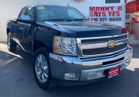 2013 Chevrolet Silverado 1500 for sale at Manny G Motors in San Antonio TX