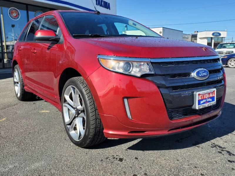 2014 Ford Edge for sale at Better All Auto Sales in Yakima WA