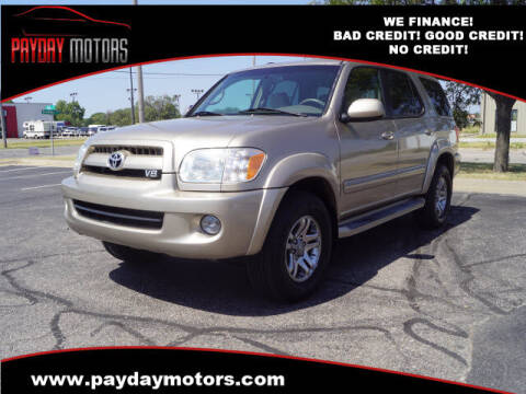 2007 Toyota Sequoia for sale at Payday Motors in Wichita And Topeka KS