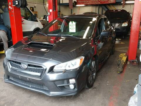 2017 Subaru WRX for sale at Drive Deleon in Yonkers NY