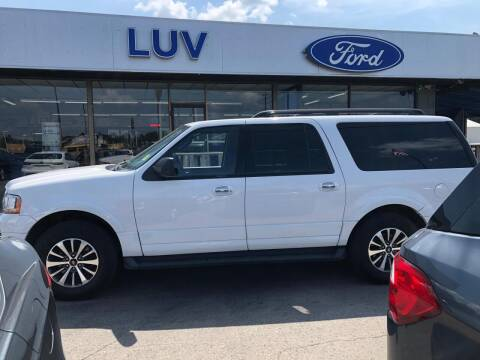 2016 Ford Expedition EL for sale at Luv Motor Company in Roland OK