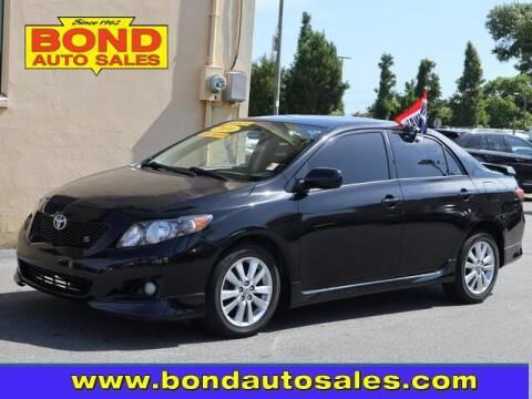 2010 Toyota Corolla for sale at Bond Auto Sales in Saint Petersburg FL
