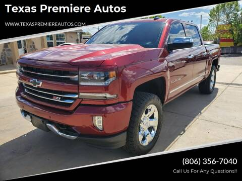 2016 Chevrolet Silverado 1500 for sale at Texas Premiere Autos in Amarillo TX