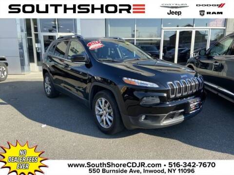 2018 Jeep Cherokee for sale at South Shore Chrysler Dodge Jeep Ram in Inwood NY
