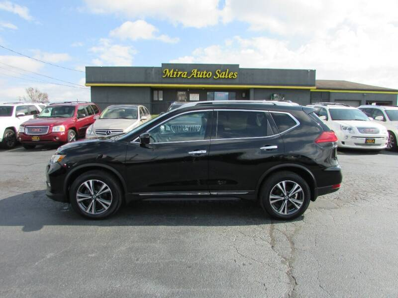 2017 Nissan Rogue for sale at MIRA AUTO SALES in Cincinnati OH
