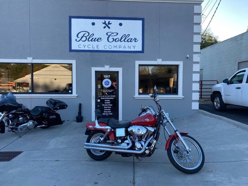 2002 Harley-Davidson Dyna Wide Glide for sale at Blue Collar Cycle Company in Salisbury NC