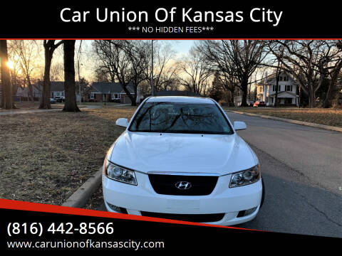 2006 Hyundai Sonata for sale at Car Union Of Kansas City in Kansas City MO