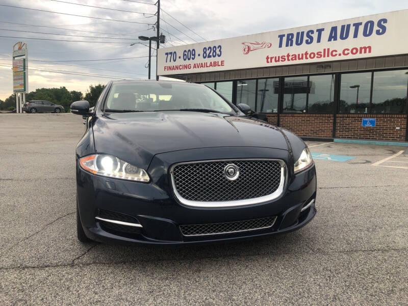 2011 Jaguar XJL for sale at Trust Autos, LLC in Decatur GA
