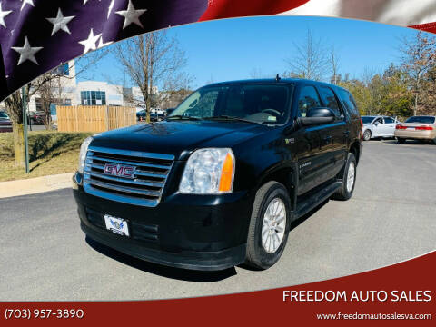 2009 GMC Yukon for sale at Freedom Auto Sales in Chantilly VA
