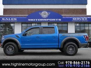 2019 Ford F-150 for sale at Highline Group Motorsports in Lowell MA