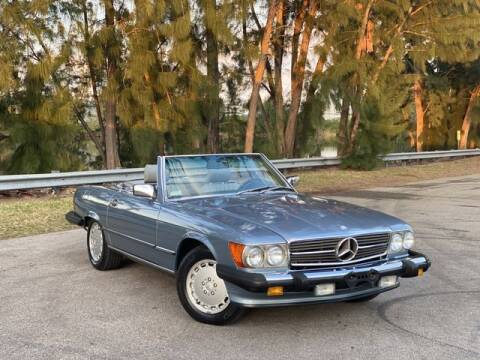 1986 Mercedes-Benz 560-Class for sale at Exclusive Impex Inc in Davie FL