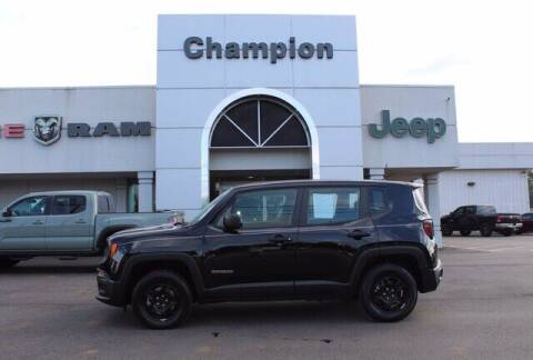 2017 Jeep Renegade for sale at Champion Chevrolet in Athens AL