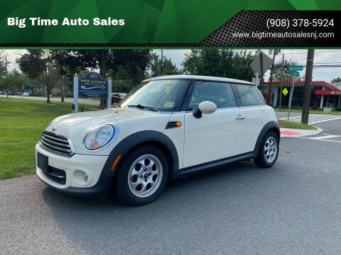 2012 MINI Cooper Hardtop for sale at Big Time Auto Sales in Vauxhall NJ