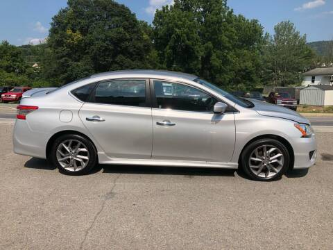2013 Nissan Sentra for sale at George's Used Cars Inc in Orbisonia PA