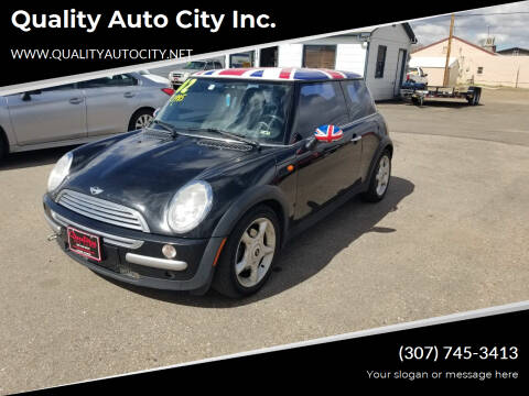 2002 MINI Cooper for sale at Quality Auto City Inc. in Laramie WY