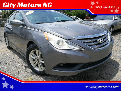 2014 Hyundai Sonata for sale at City Motors NC in Charlotte NC