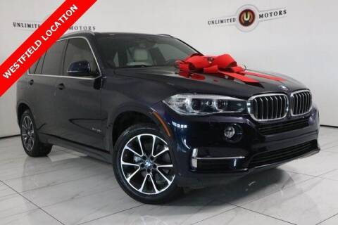 2017 BMW X5 for sale at INDY'S UNLIMITED MOTORS - UNLIMITED MOTORS in Westfield IN