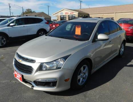 2016 Chevrolet Cruze Limited for sale at Will Deal Auto & Rv Sales in Great Falls MT