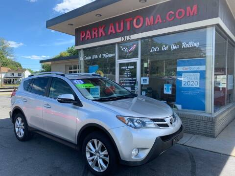 2015 Toyota RAV4 for sale at Park Auto LLC in Palmer MA