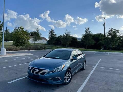 2017 Hyundai Sonata for sale at Hatimi Auto LLC in Austin TX