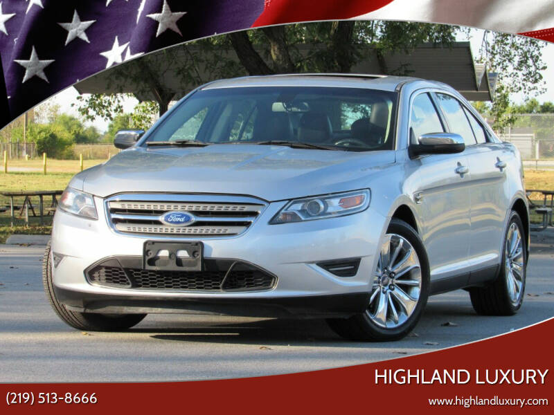 2012 Ford Taurus for sale at Highland Luxury in Highland IN