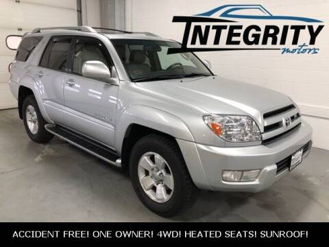 2003 Toyota 4Runner for sale at Integrity Motors, Inc. in Fond Du Lac WI