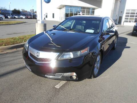 2012 Acura TL for sale at Auto America in Monroe NC