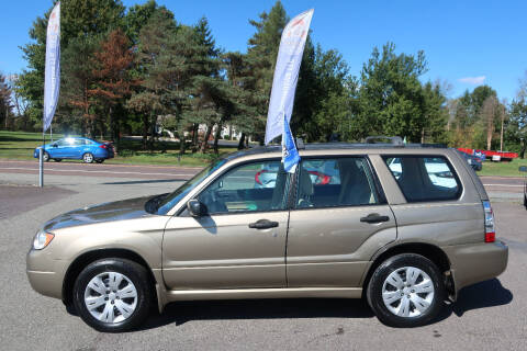2008 Subaru Forester for sale at GEG Automotive in Gilbertsville PA