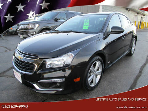 2015 Chevrolet Cruze for sale at Lifetime Auto Sales and Service in West Bend WI