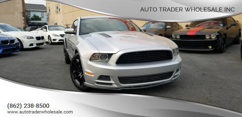2013 Ford Mustang for sale at Auto Trader Wholesale Inc in Saddle Brook NJ