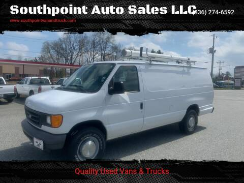 2006 Ford E-Series Cargo for sale at Southpoint Auto Sales LLC in Greensboro NC