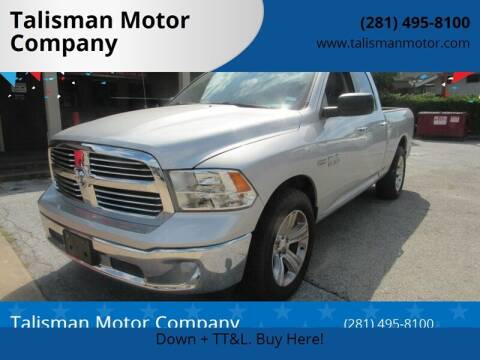 2014 RAM Ram Pickup 1500 for sale at Don Jacobson Automobiles in Houston TX