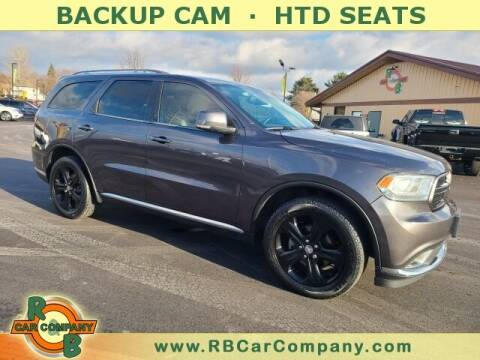 2015 Dodge Durango for sale at R & B Car Co in Warsaw IN