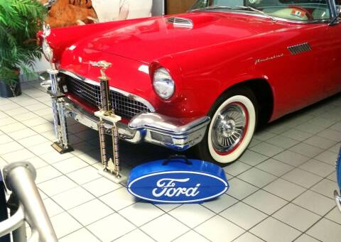 1957 Ford Thunderbird for sale at Black Tie Classics in Stratford NJ