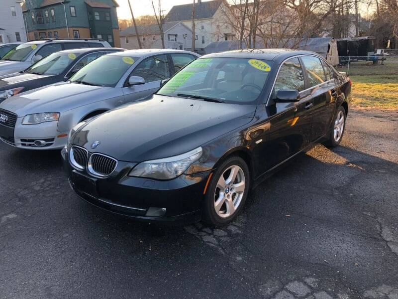 2008 BMW 5 Series for sale at Shoreline Motorsports in Waterbury CT