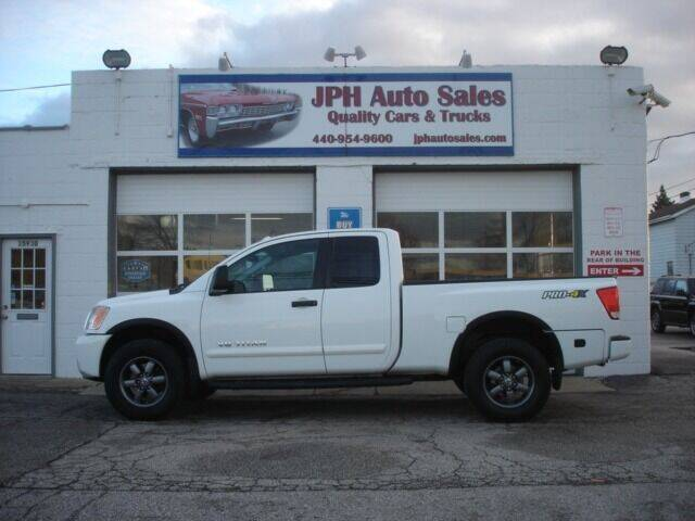 2014 Nissan Titan for sale at JPH Auto Sales in Eastlake OH