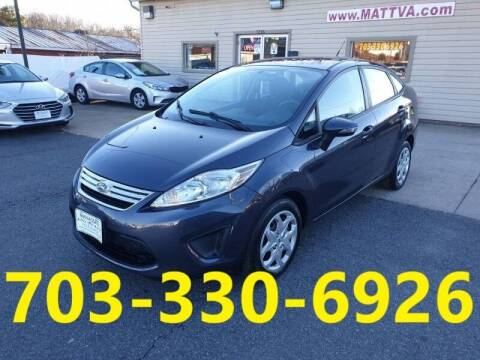 2013 Ford Fiesta for sale at MANASSAS AUTO TRUCK in Manassas VA