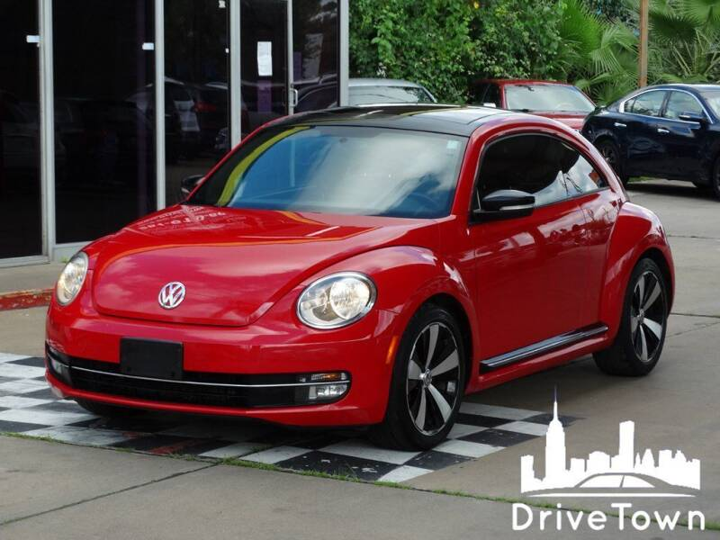 2012 Volkswagen Beetle for sale at Drive Town in Houston TX