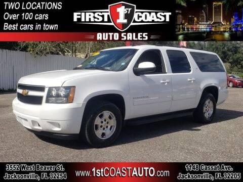 2012 Chevrolet Suburban for sale at 1st Coast Auto -Cassat Avenue in Jacksonville FL