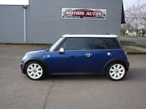 2003 MINI Cooper for sale at Motion Autos in Longview WA